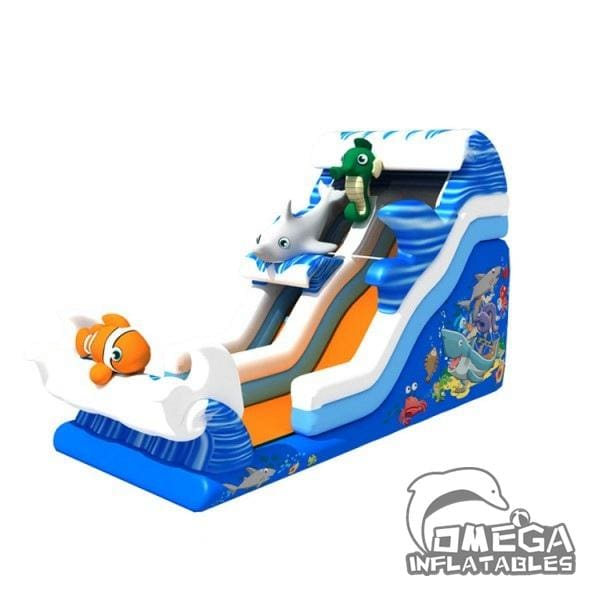 Ocean World Theme Water Slide