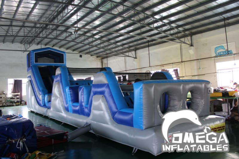 Outdoor Extreme Challenge Inflatable Obstacle Course
