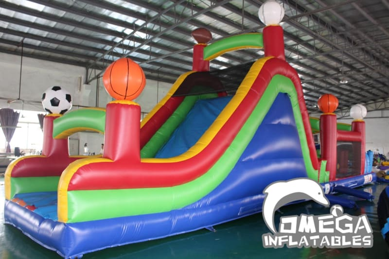Outdoor Sports Inflatable Obstacle Course
