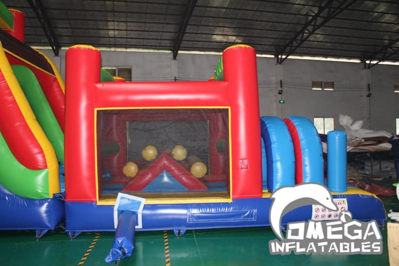 Outdoor Sports Wet Dry Obstacle Course