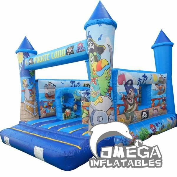 Pirate Land Inflatables Combo