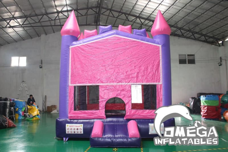 Princess Bricks Castle Bounce House