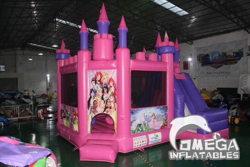 Princess Castle 5 in 1 Combo