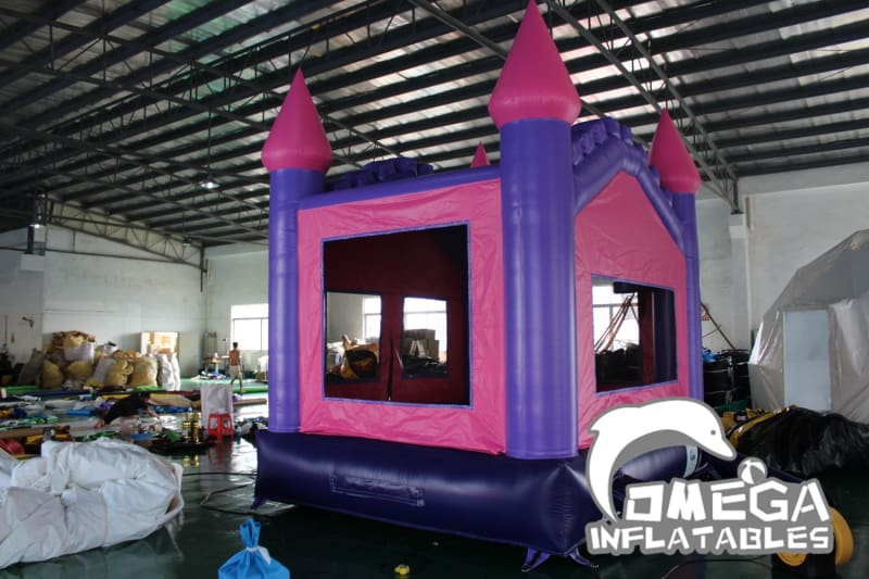 Purple & Pink Queen Bouncy Castle