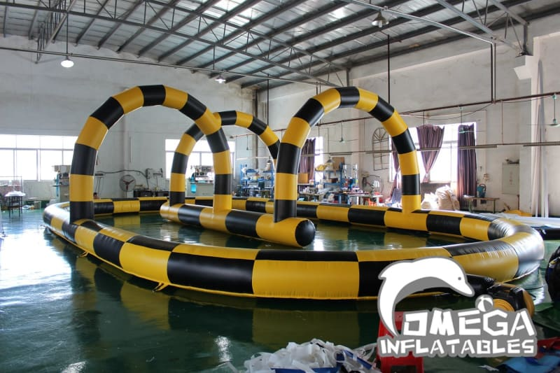 Race Track for Zorb Ball
