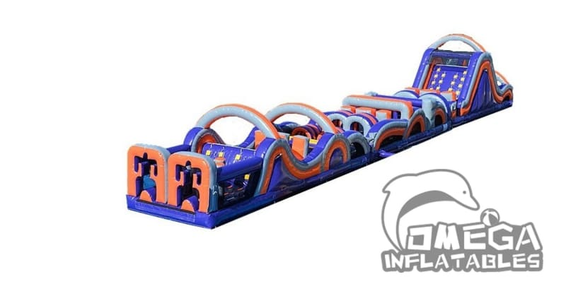Radical Run Retro Obstacle Course