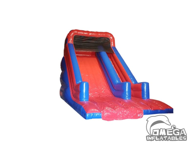 Red and Blue Dry Slide