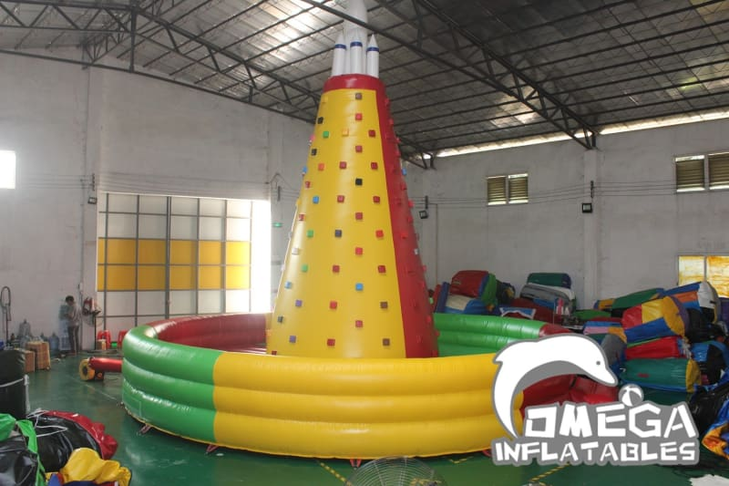Rocket Inflatable Rock Climbing