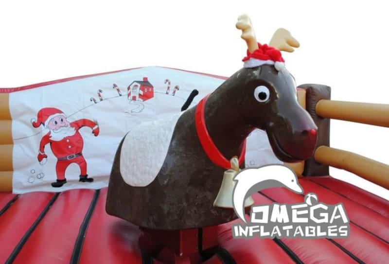 Rodeo Reindeer with Inflatable Mattress
