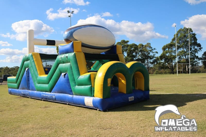 Rugby Rumble Obstacle Course