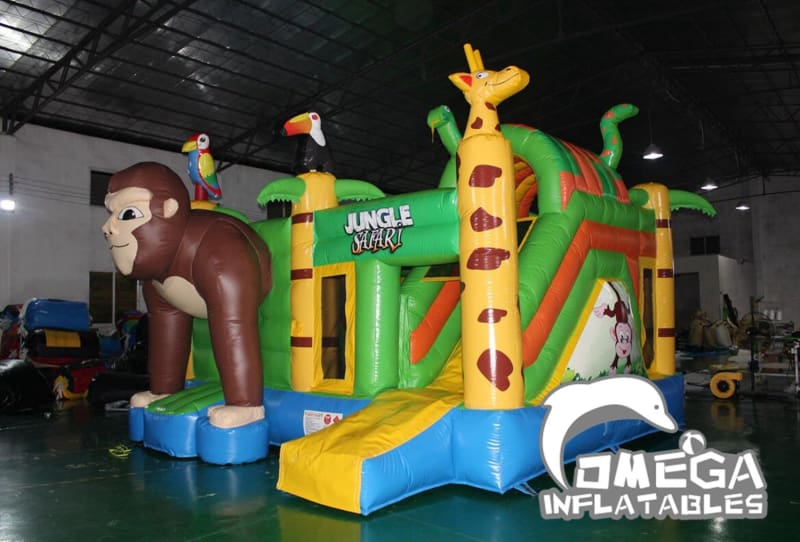 Safari Inflatables Combo Jumper