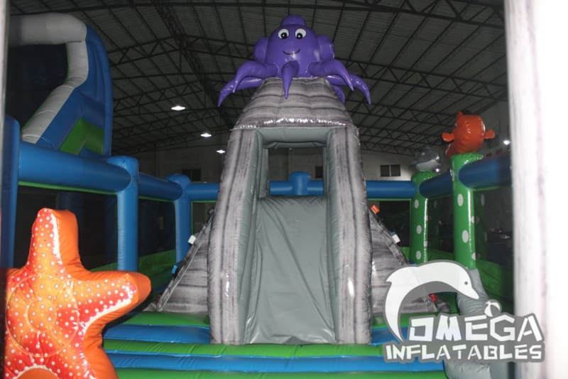 Sea World Inflatable Playground