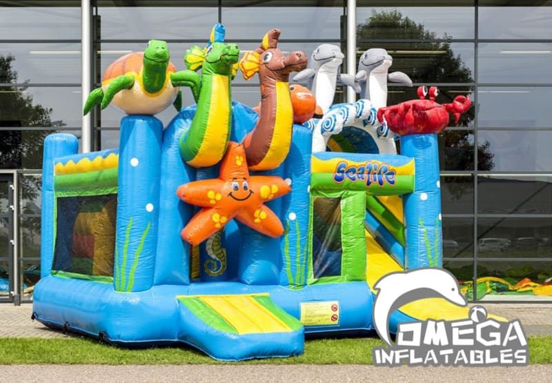 Seaworld Combo inflatables Jumper