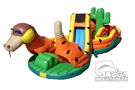 Silly Snake Obstacle Course