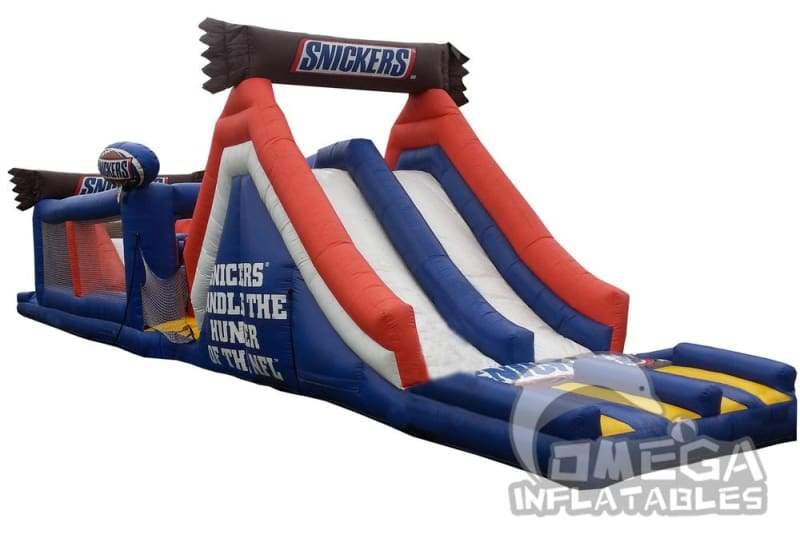 Snickers NFL Obstacle Course