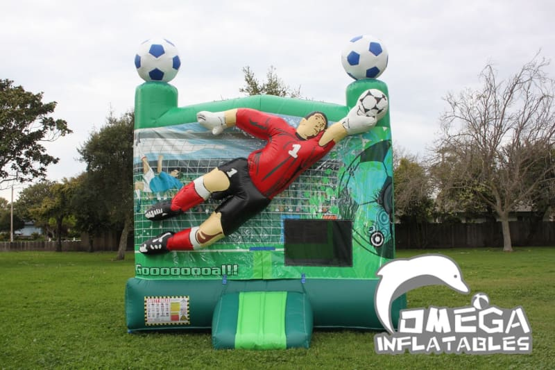 Soccer Inflatable Bounce House