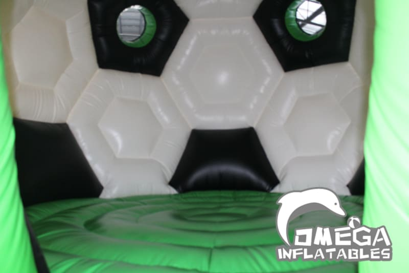 Soccer Shape Inflatable Bouncy Castle