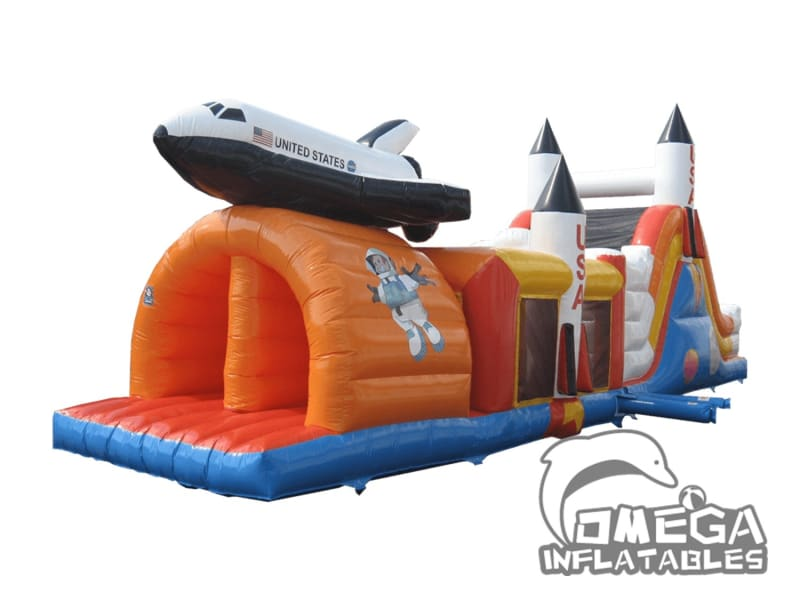 Space Rocket Obstacle Course