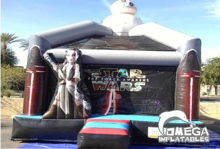 Star War Bounce House