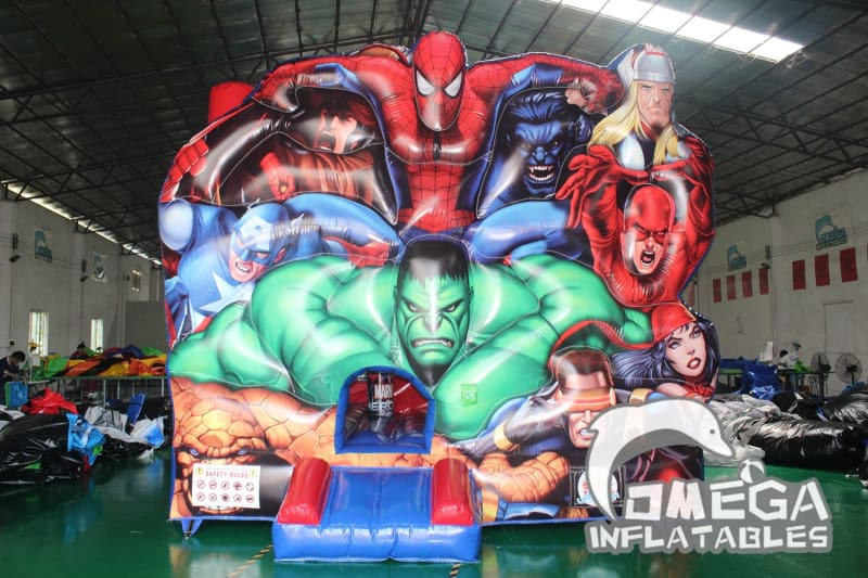 Super Heroes Inflatable Combo