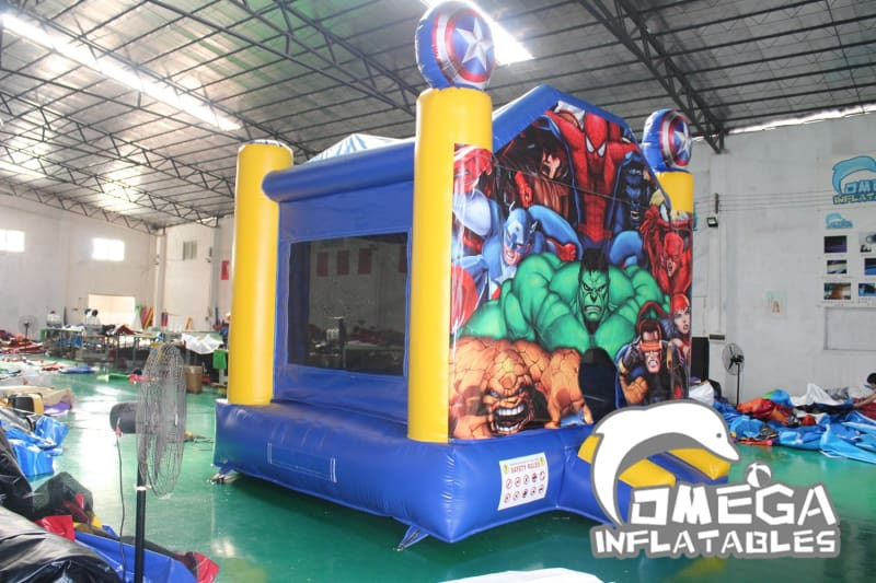 Super Heroes Themed Bounce House