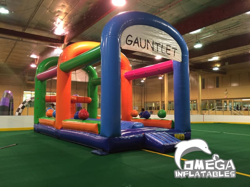 The Gauntlet Inflatable Game