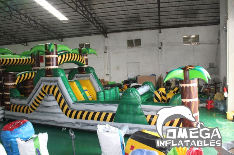 Toxic Paradise Obstacle Course