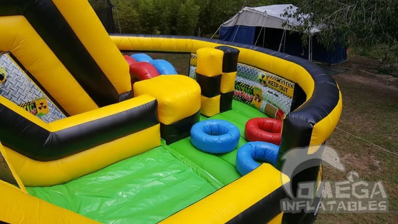 Toxic Rampage Inflatable Obstacle Course