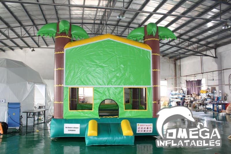 Tropical Palm Tree Bounce House