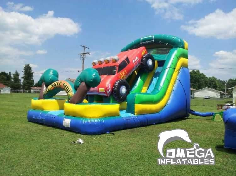 Truck Inflatable Slide