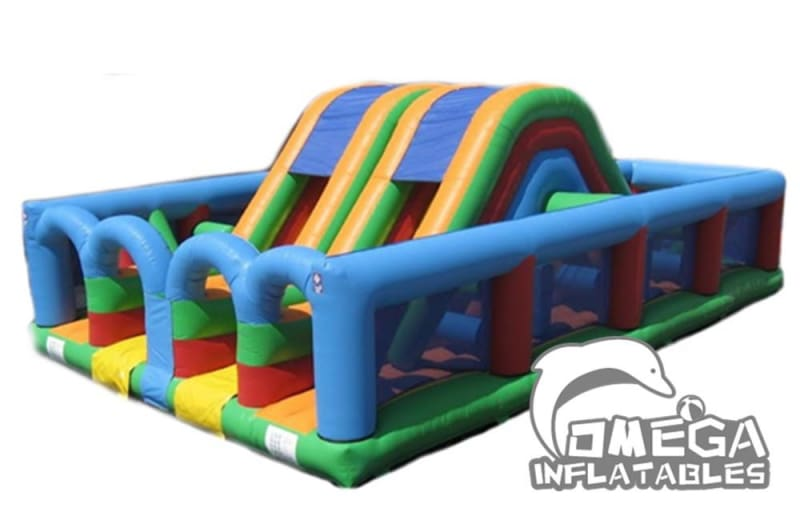 Twin Lane Obstacle Course