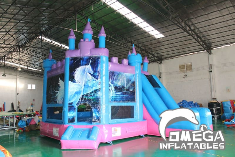 Unicorn Jumping Castle Combo