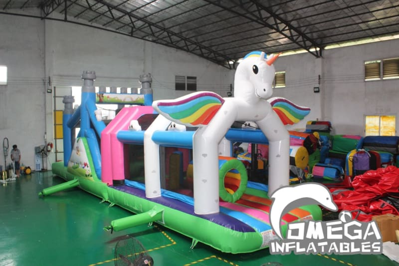 Unicorn Obstacle Course