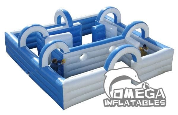 Water Blaster Maze Inflatable