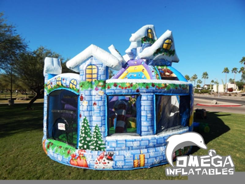 Winter Wonderland Inflatable Playground
