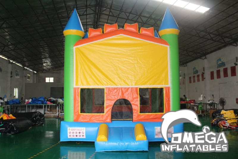 Yellow Bricks Castle Bounce House