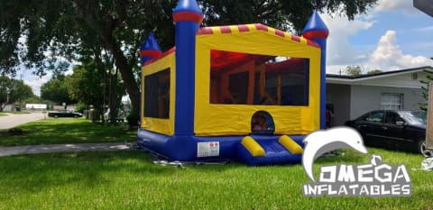 Inflatable 4 in 1 Castle Combo