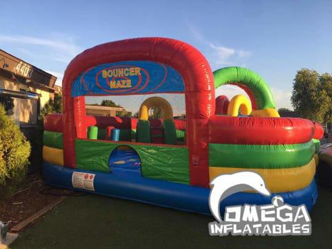 Inflatable Bouncer Maze for Kids
