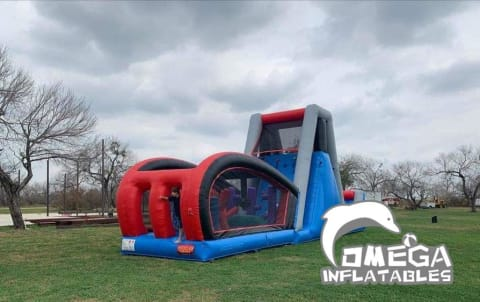 Inflatable Ninja Obstacle course