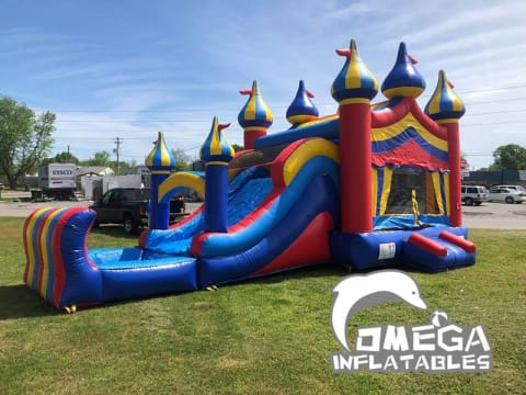 Commercial Inflatable Premium Circus Top Wet Dry Combo
