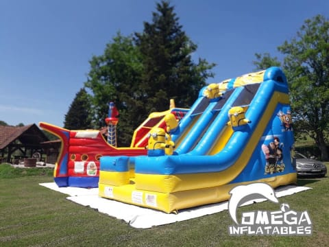 Minions Inflatable Slide