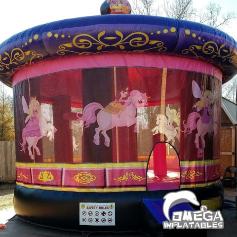 Merry-Go-Round Inflatables Bouncer