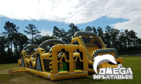 Interactive Atomic Inflatable Obstacle Course