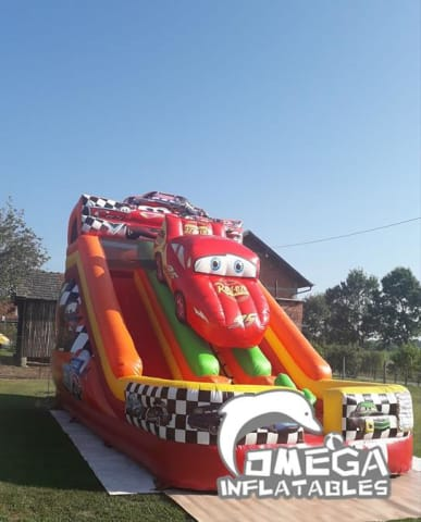 Cars Themed Dry Slide