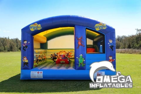 Wiggles Inflatable Castle Combo