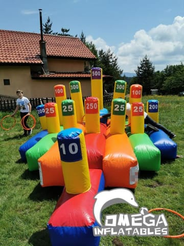 Giant Inflatable Ring Toss Game
