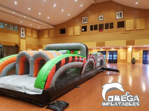 95FT Radical Run Inflatable Obstacle Course (3 sections)