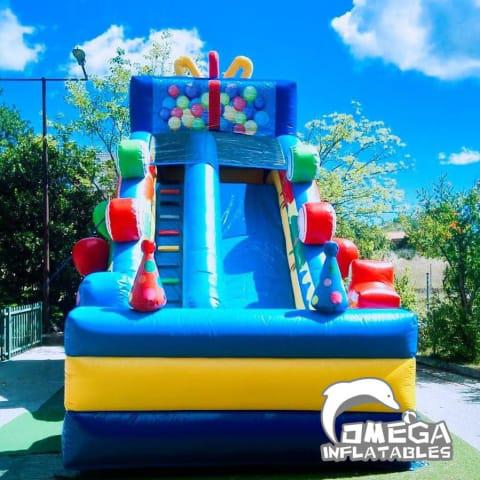 16FT Candy Party Inflatable Slide