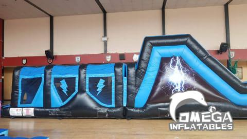 Disco Lightning Energy Obstacle Course