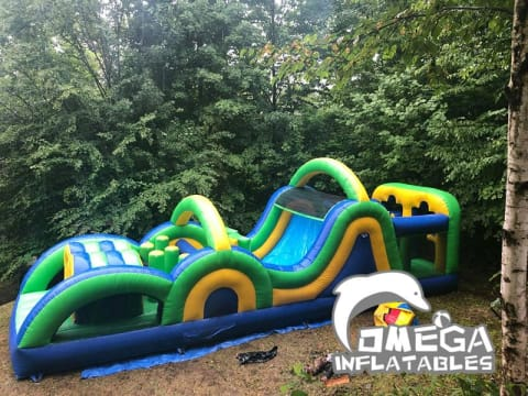 Radical Run Inflatable Obstacle Course (Small Version)